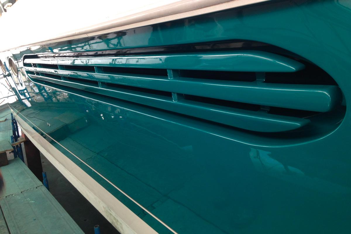 verniciatura yacht, barca, barca a vela La Spezia, 5 Terre - La Spezia Yachting Service