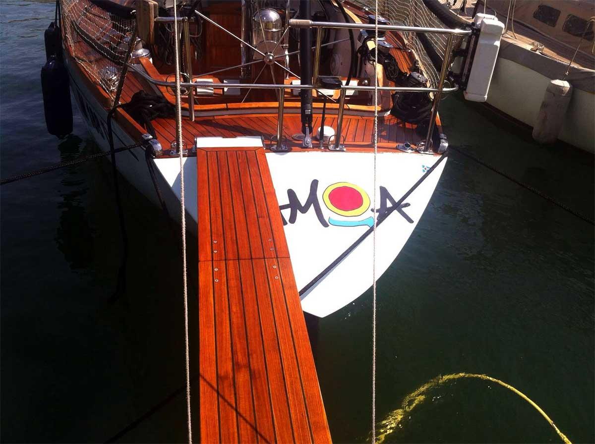 pulizie e lavaggi barche a vela - La Spezia Yachting Service