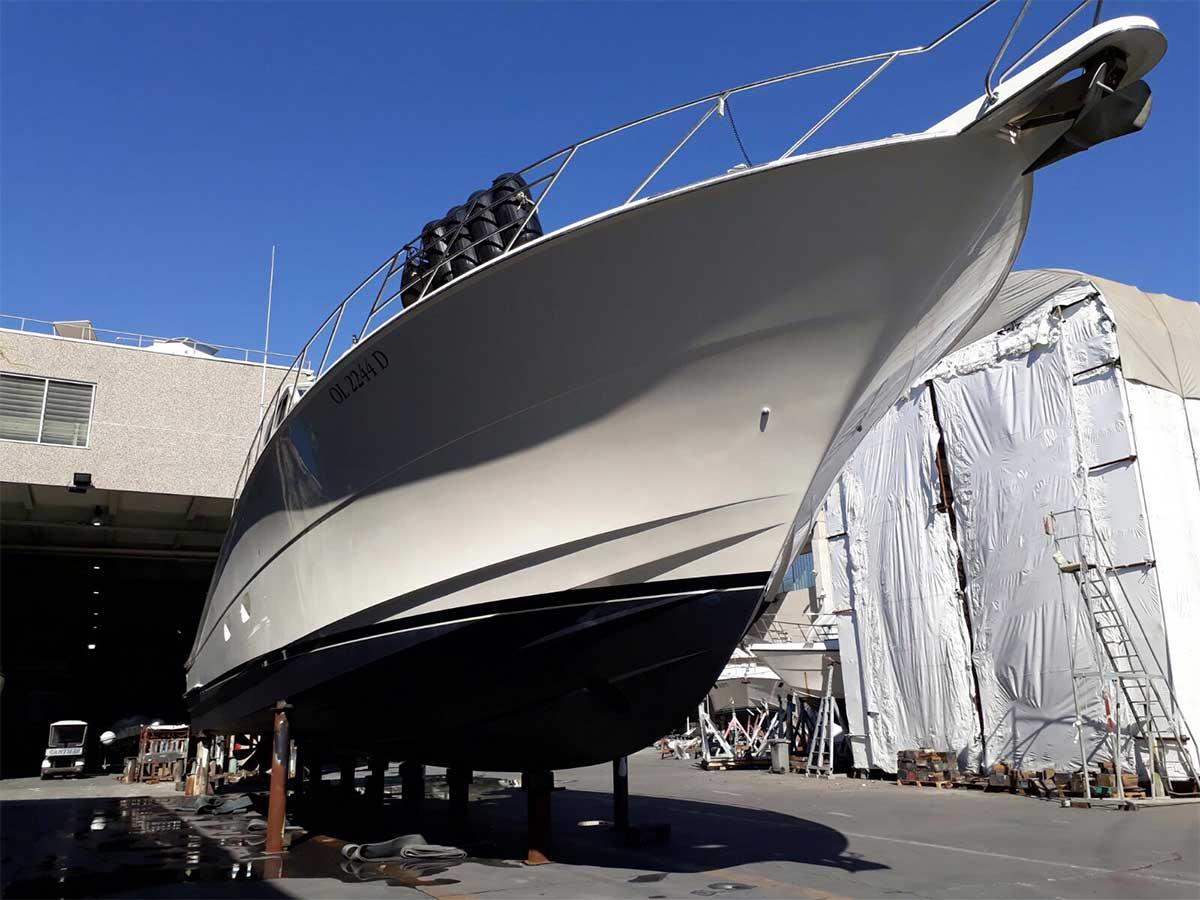 rimessaggio gommoni La Spezia - La Spezia Yachting Service