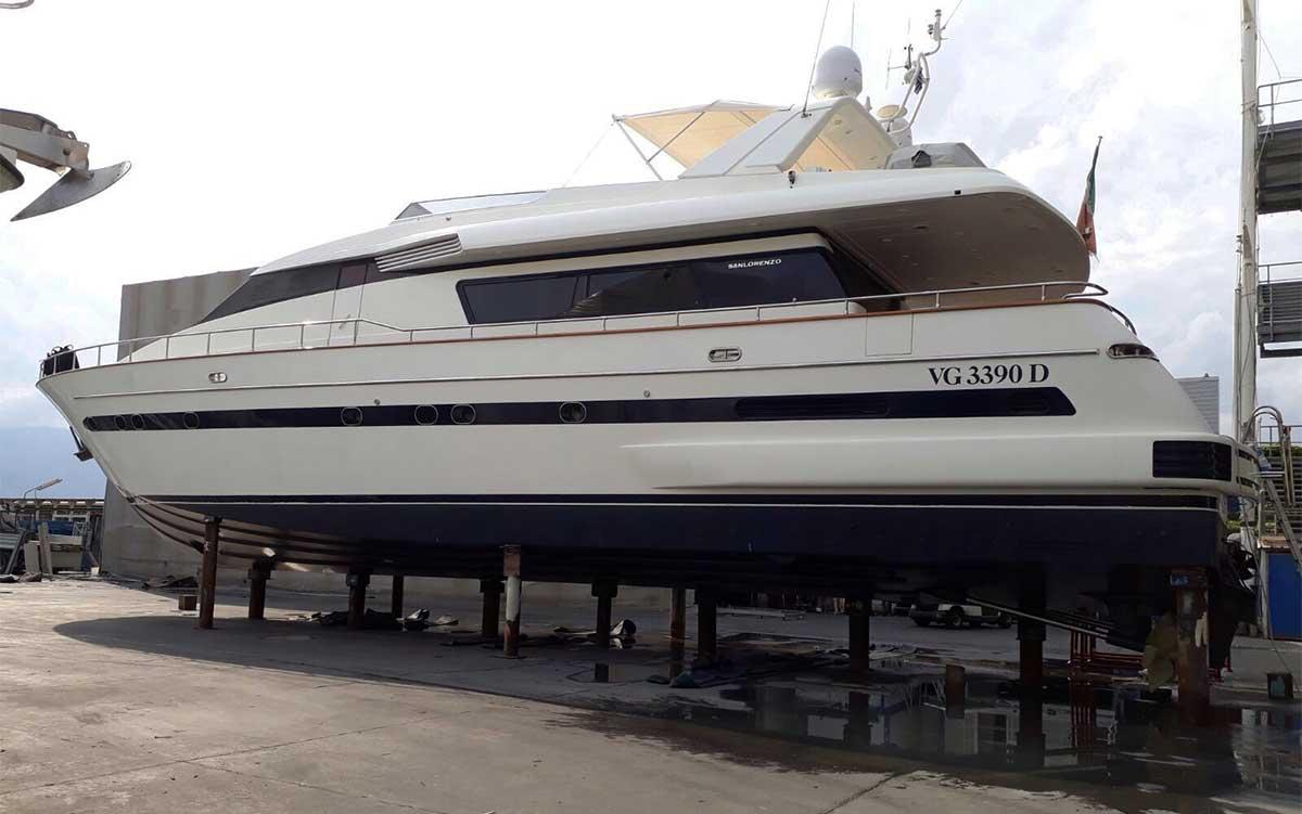 rimessaggio yacht La Spezia - La Spezia Yachting Service