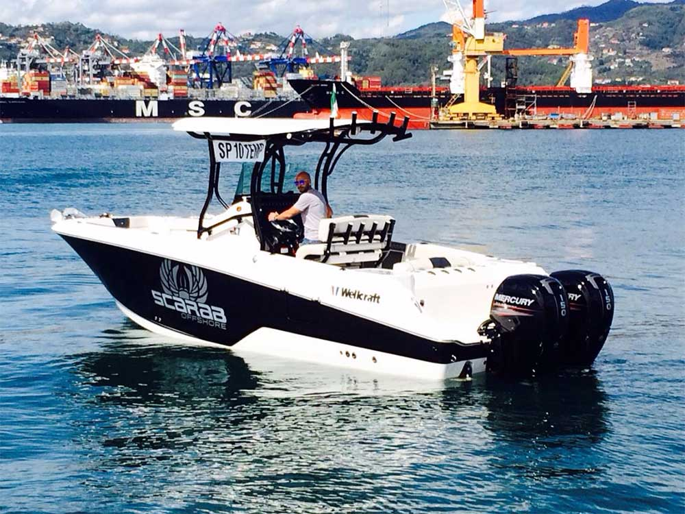 Portovenere vendita usato yacht - La Spezia Yachting Service